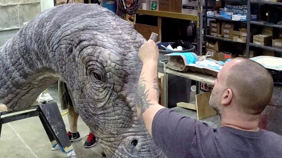 Апатозавр из  фильма «Мир юрского периода»