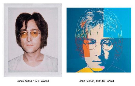 Фото и портрет Джона Леннона, 1971/1986 / Фото: kulturologia.ru/