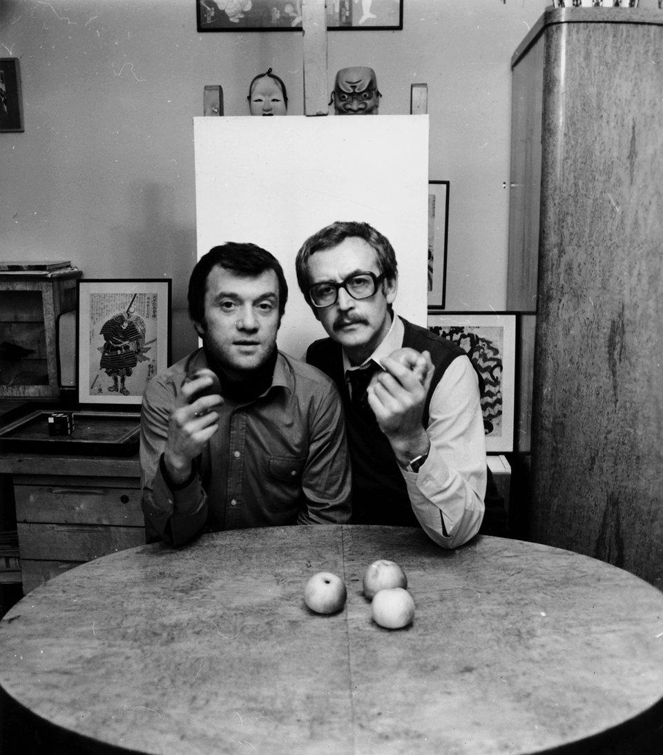 Самоэль Кацев и Василий Ливанов. 1983 год / Фото: Тамара Сеферян