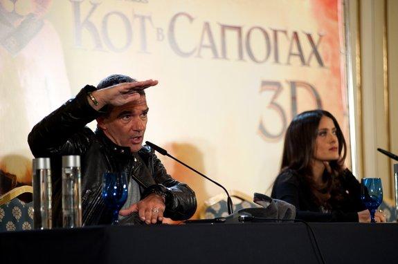 Антонио Бандерас и Сальма Хайек