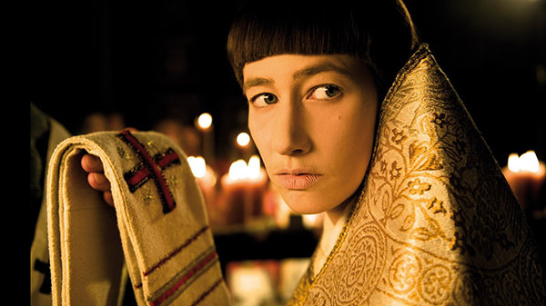 Кадр из фильма «Иоанна— женщина напапском престоле»