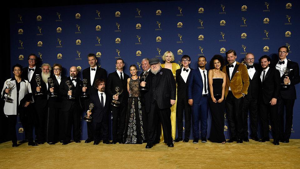 Актеры и съемочная группа сериала «Игра престолов» / Фото: Getty Images