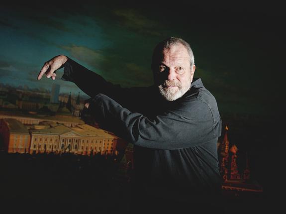 Терри Гиллиам на московской премьере «Теоремы Зеро»