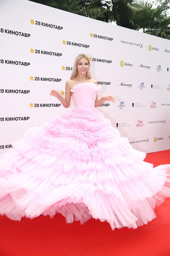 Актриса Наталья Бардо / Пресс-служба фестиваля «Кинотавр»