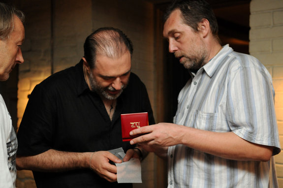 Анатолий Максимов и Никита Высоцкий