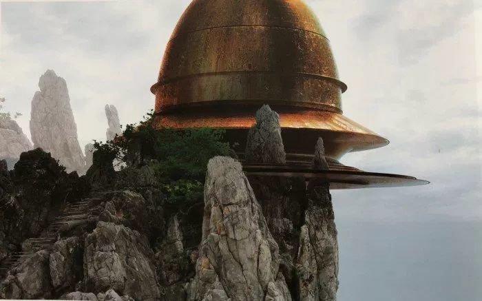Концепт-арт кнесостоявшейся трилогии «Звездных войн» Джорджа Лукаса