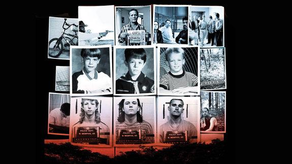 Кадр из фильма «Потерянный рай»: Жертвы преступления и обвиняемые в нем