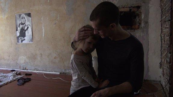 Кадр из фильма «Павленский. Голая жизнь»