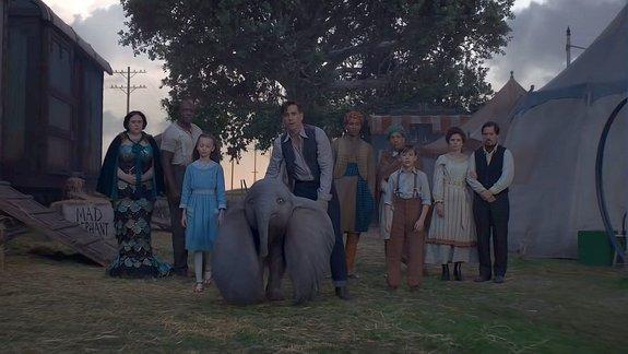 Тизер-трейлер фильма «Дамбо»: Тим Бёртон и летающий слоненок — новости на КиноПоиске
