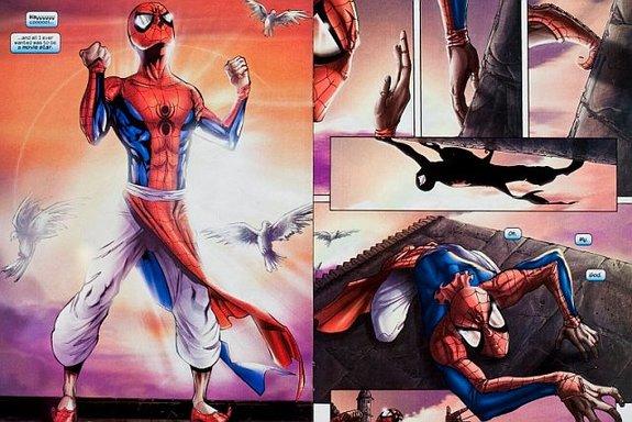 Никаких песен и танцев — просто Человек-паук из Индии