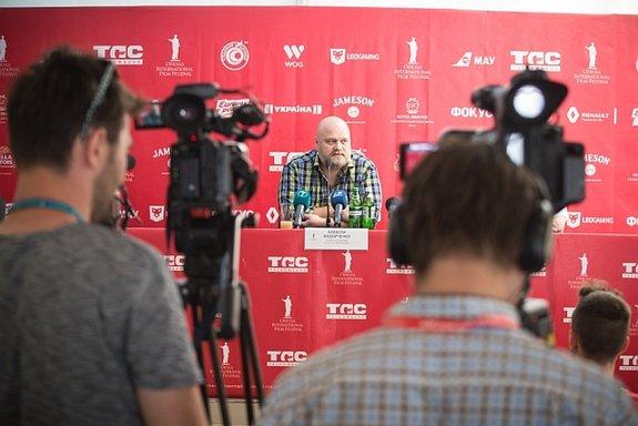 Алексей Федорченко на пресс-конференции в Одессе