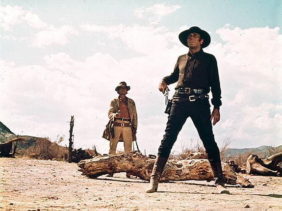 Вой койота имелодический свист: Саундтреки квестернам