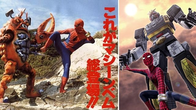 Японский Человек-паук в сериале и в комиксах