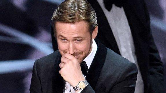 Райан Гослинг объяснил причину своего смеха на «Оскарах»