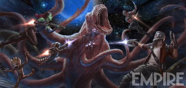 Концепт-арт к фильму «Стражи Галактики 2»