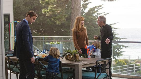 На съемках сериала «Большая маленькая ложь» / Фото: HBO