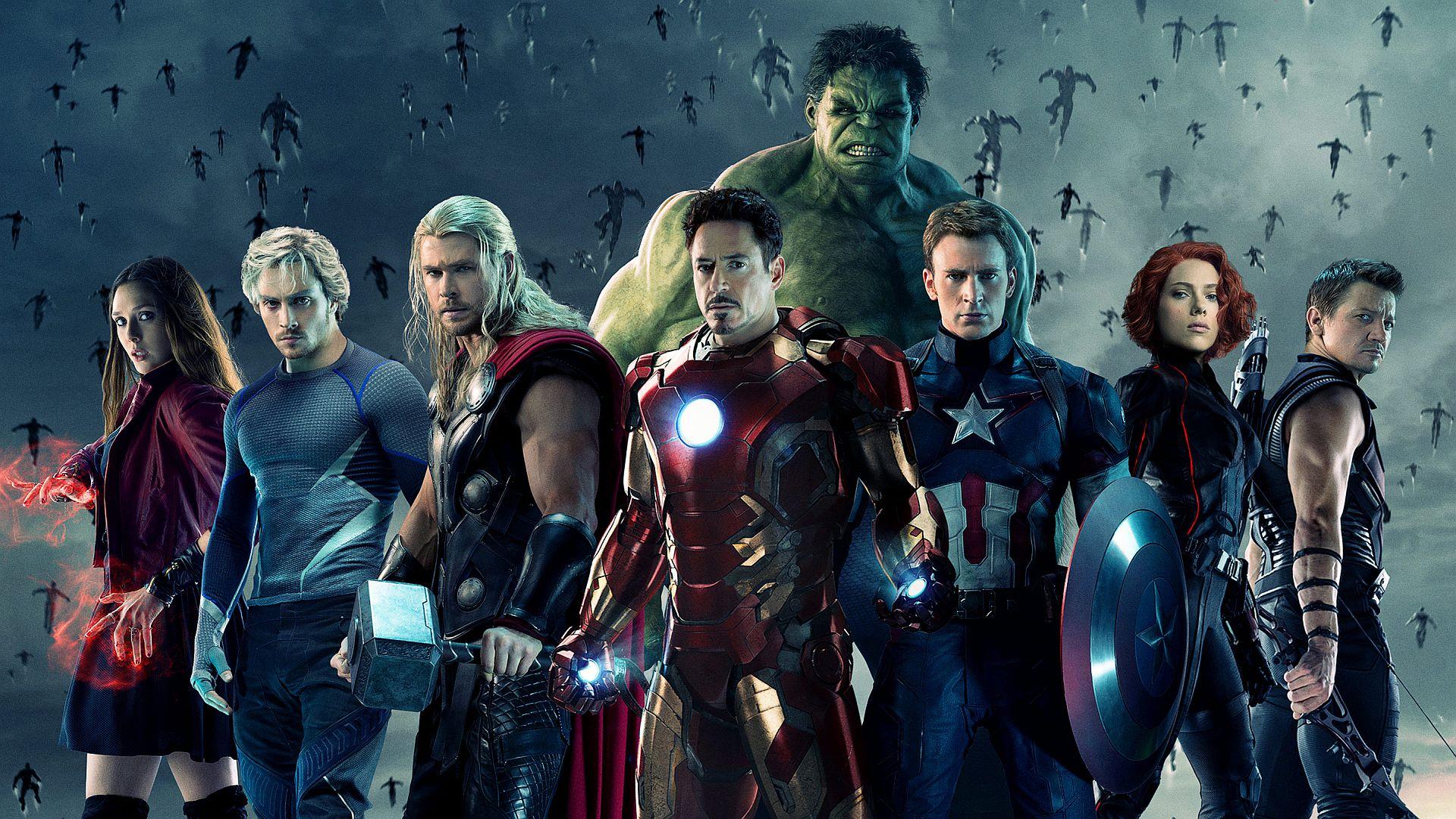 Посмотреть картинки всех мстителей