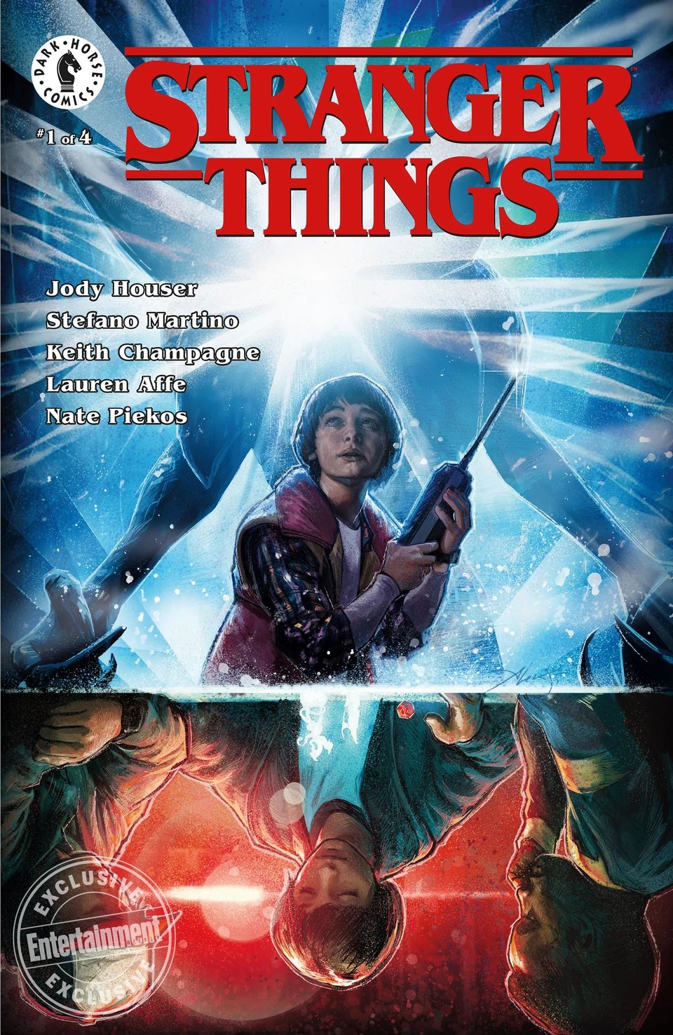 Обложка комикса «Stranger Things» / Издательство Dark Horse