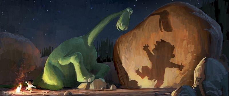 Один изпервых концептов «Хорошего динозавра»