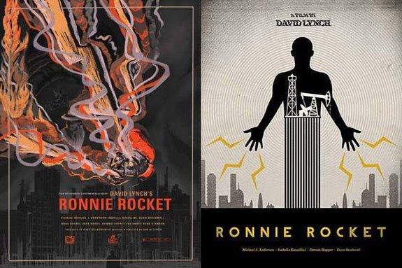 Фанатские постеры к «Ронни-ракете».