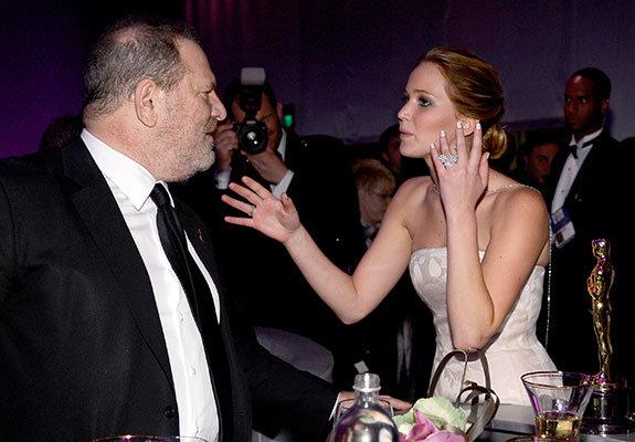 С Дженнифер Лоуренс на Oscars Governors Ball