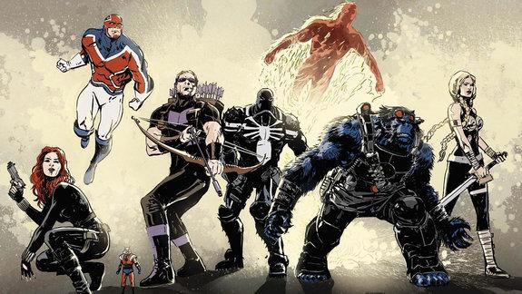 Комикс «Тайные Мстители»