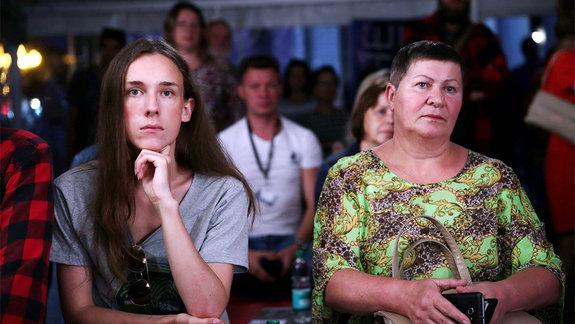 Посетители фестиваля / Фото предоставлено пресс-службой кинофестиваля «Край света»