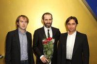 Александр Кушаев, Алексей Попогребский и Роман Борисевич