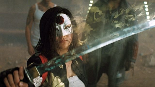 Катана и ее меч в действии