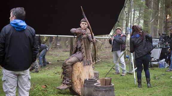 На съемочной площадке «Викингов»