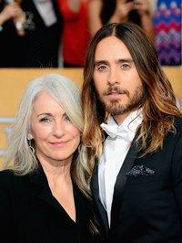 Джаред Лето с мамой
