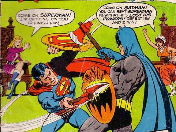 Бэтмен против Супермена: Самые дурацкие битвы