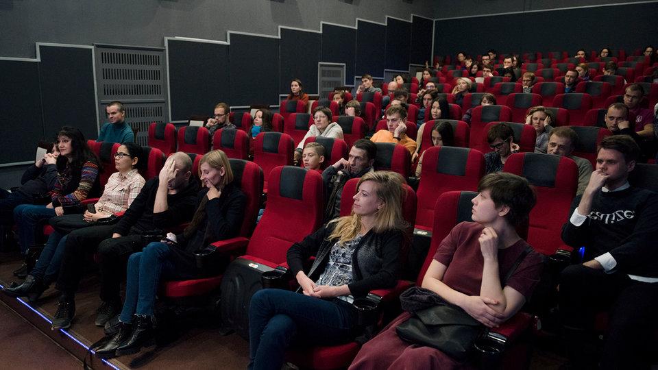Зрительный зал киноклуба «Фитиль» / Фото: Элен Нелидова, КиноПоиск