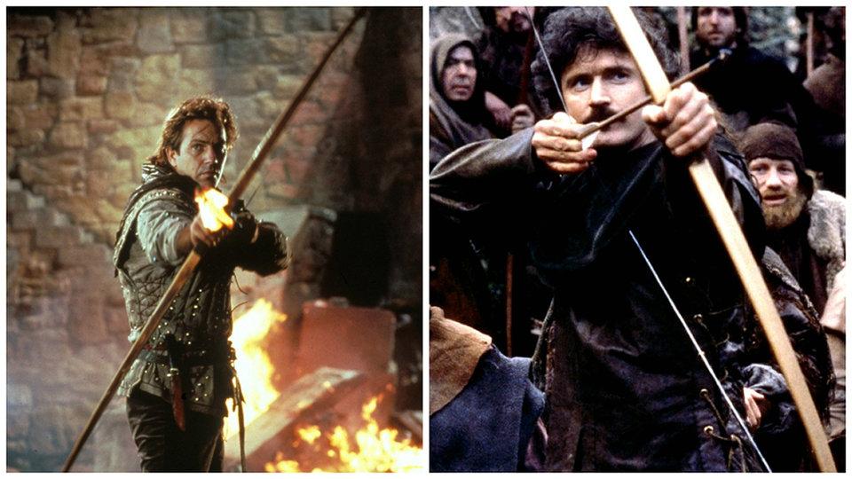 «Робин Гуд: Принц воров» и «Робин Гуд»
