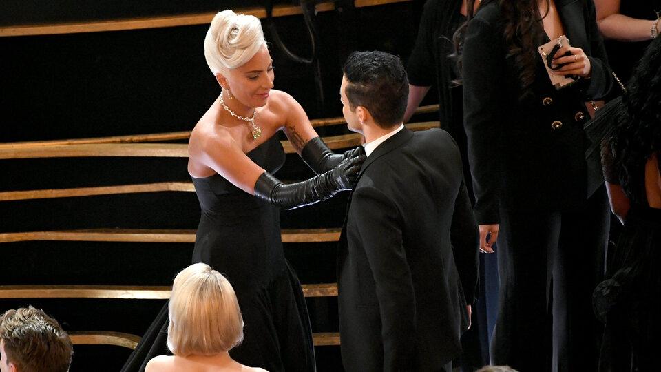 Леди Гага и Рами Малек /  Фото: Getty Images