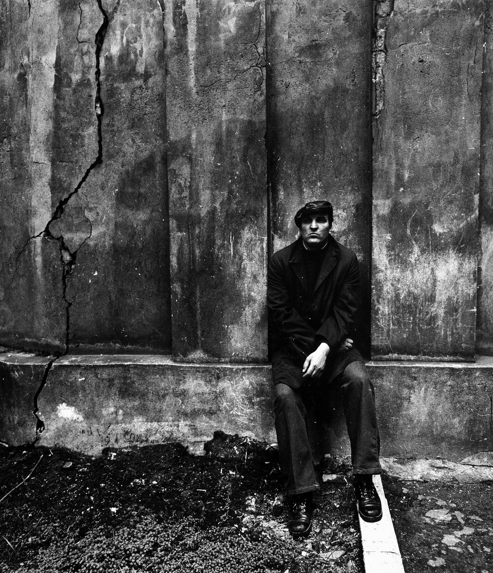 Алексей Петренко на съемках фильма «Беда». 1977 год / Фото: Самоэль Кацев