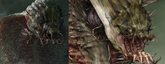 Морское чудовище из фильма «Хроники Нарнии: Покоритель зари»