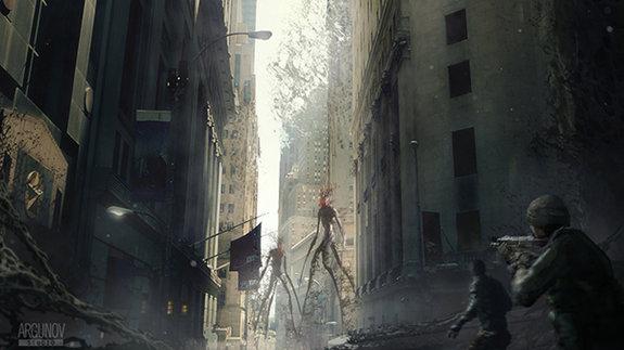 Концепт-арт к фильму «Кома»