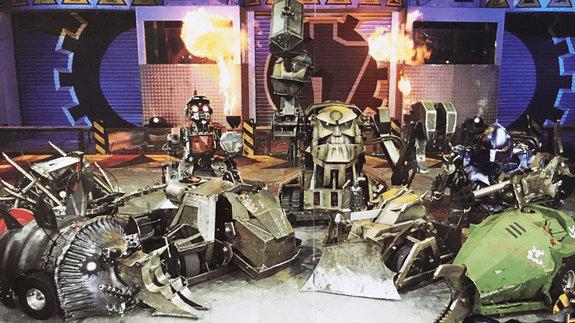 Кадр из телешоу «Битва роботов»