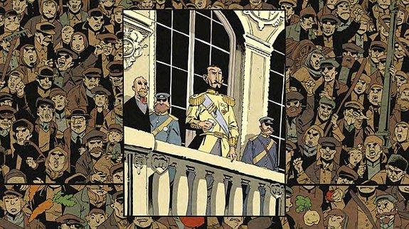 Авторы «Смерти Сталина» написали комикс о гибели Российской империи