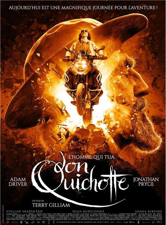 Постер фильма «Человек, который убил Дон Кихота»