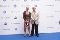 Борис Ноткин с женой