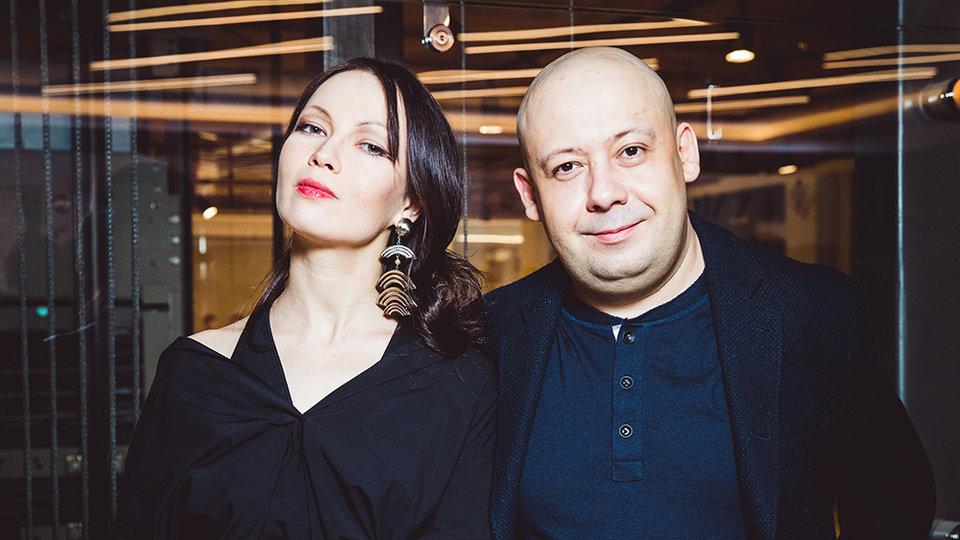 Елена Окопная и Алексей Герман-младший