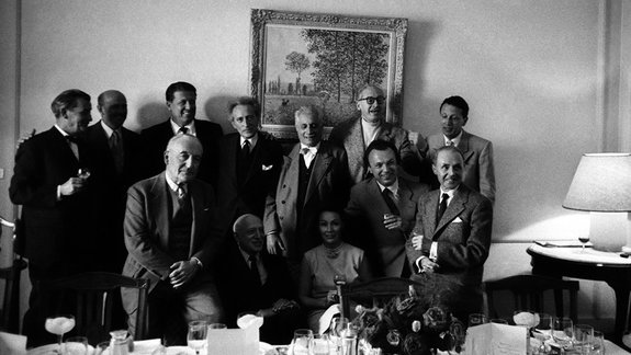 Жюри Каннского фестиваля, 1957 год / Фото: Getty Images