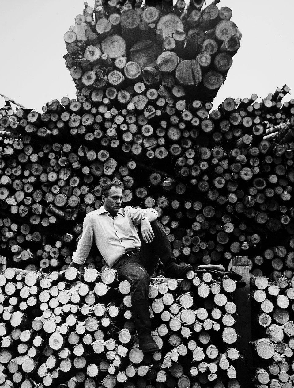 Владимир Меньшов на съемках фильма «Под одним небом». 1981 год / Фото: Самоэль Кацев