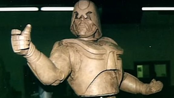Одна из версий костюма Робокопа