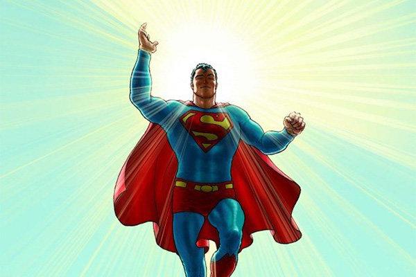 Фрагмент обложки комикса «Супермен: Все звезды»