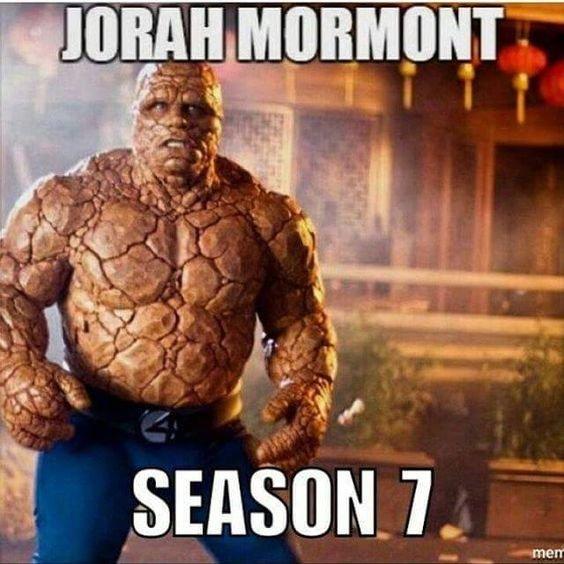 Джорах Мормонт. Седьмой сезон.
