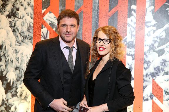 Максим Виторган и Ксения Собчак