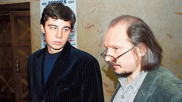 Алексей Балабанов на съемках «Брата»